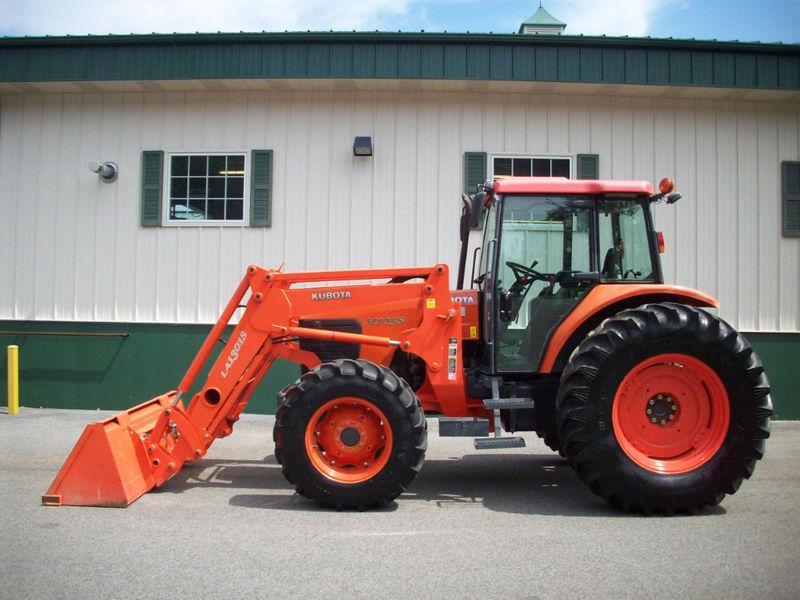 tracteur kubota occasion avec chargeur tracteur routier. Black Bedroom Furniture Sets. Home Design Ideas
